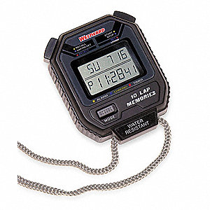 Digital Stopwatch,Multiline LCD
