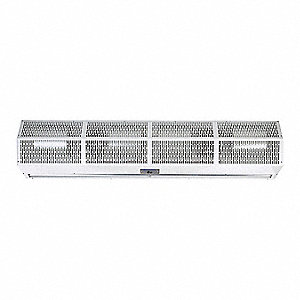Air Curtain, 6 ft. Max. Door Width, 10 ft. Max. Mount Ht., 69 dBA @ 10 Feet, 3500 fpm