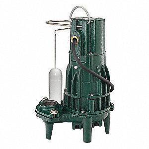 1/2 HP Submersible Effluent Pump, Operation Type: Automatic, Switch Type: Vertical