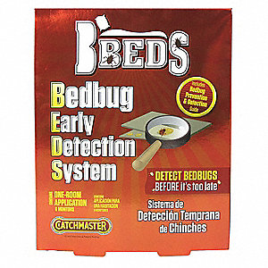 Bedbug Detection Device, Bait Board, Bed Bugs, 6 PK