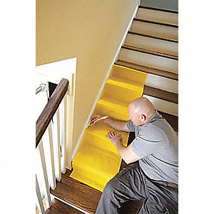 Stair Drop Cloth,1-1/2x7-3/8 Ft