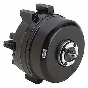 1/185 HP Unit Bearing Motor, Shaded Pole, 1550 Nameplate RPM,115 Voltage, Frame Non-Standard