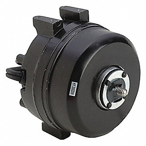 1/125 HP Unit Bearing Motor, Shaded Pole, 1550 Nameplate RPM,115 Voltage, Frame Non-Standard