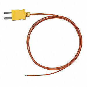 Thermocouple Sensor K Type,36 In Long