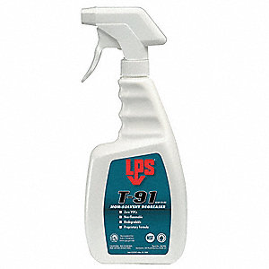 Detergent Non-Solvent Degreaser, 28 oz. Trigger Spray Bottle