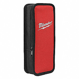 Carrying Case,Nylon,Black/Red