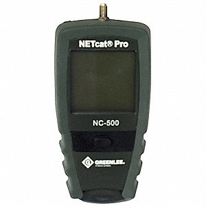 NetCat 500 Cable Tester Display: Touch Screen LCD Adapter Type: F