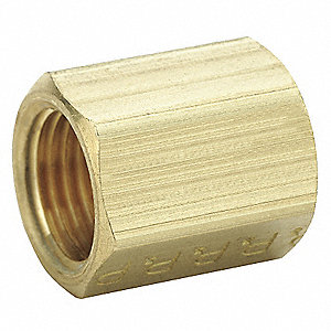 "Union, Flare x MNPS Connection Type, 1/2"" Tube Size, 10PK"