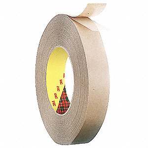 Double Coated Tape,1/2In x 60 yd.,Clear