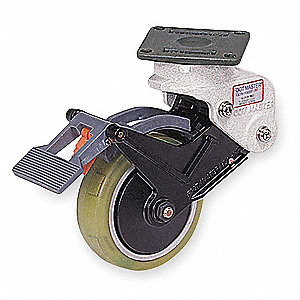 "4"" Plate Caster, 165 lb. Load Rating"