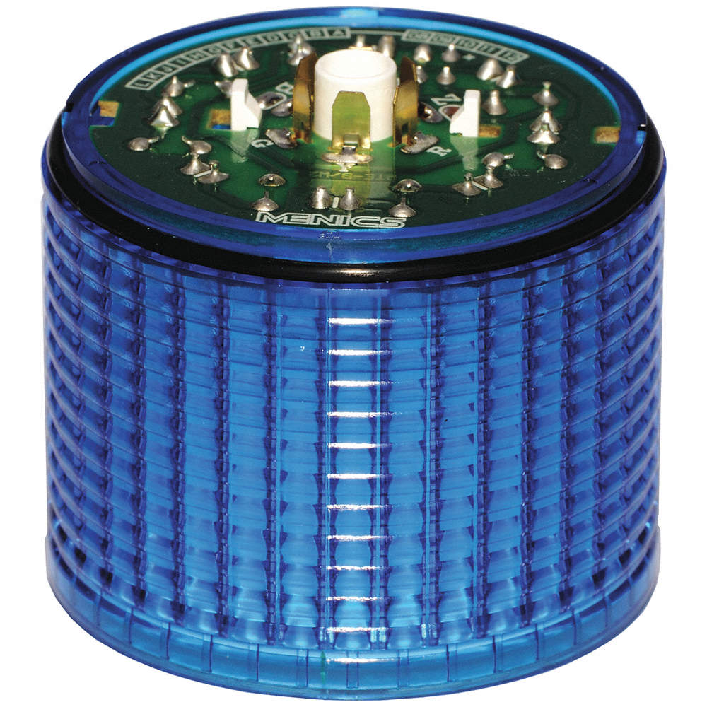 Blue Tower Light LED Module Flashing
