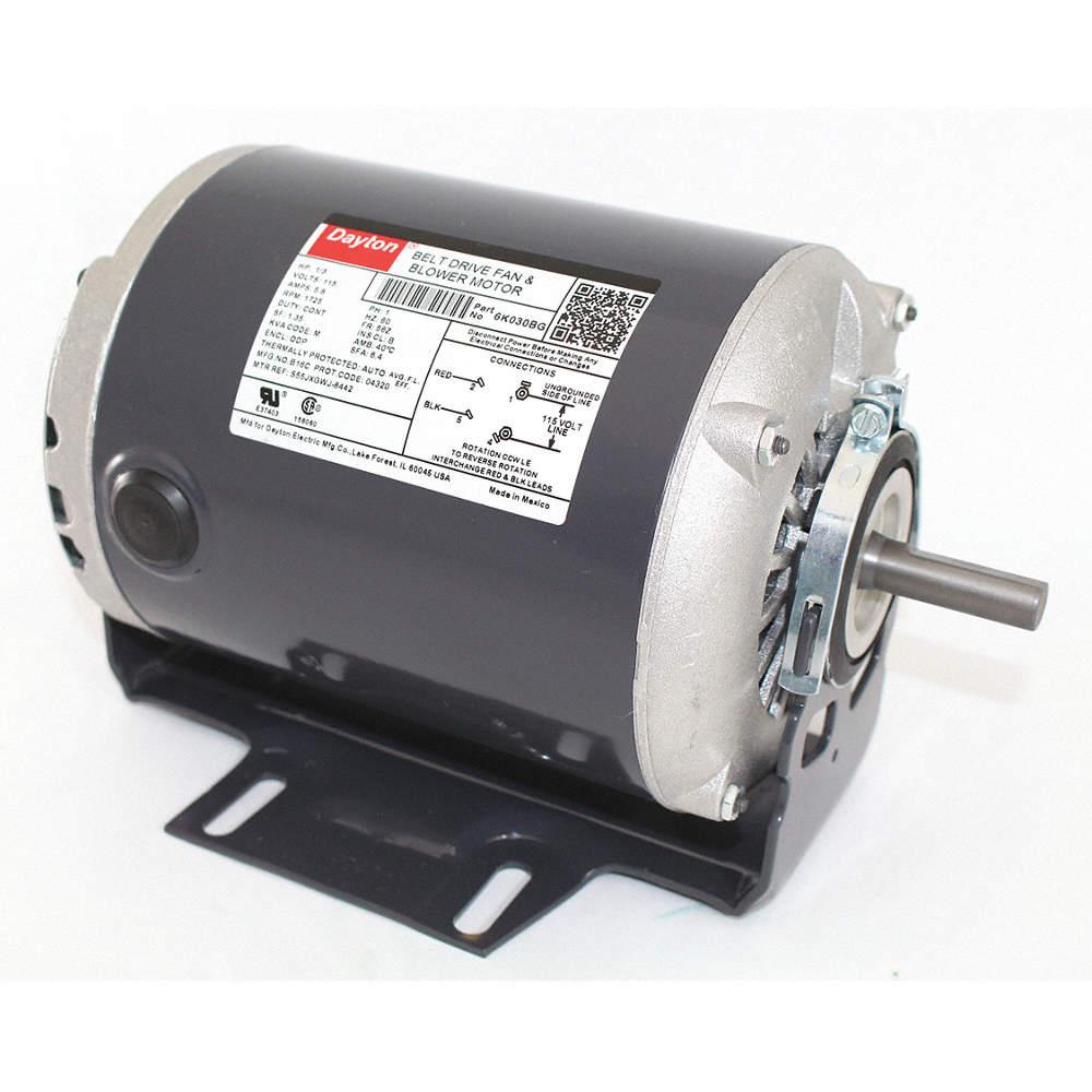 115 volt schematic wiring dayton 1 3 hp belt drive motor  split phase  1725 nameplate rpm  dayton 1 3 hp belt drive motor  split