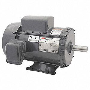 5 HP General Purpose Motor,Capacitor-Start/Run,3540 Nameplate RPM,Voltage Dayton Hp Motor Wiring Schematic on