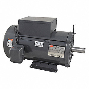 7-1/2 HP General Purpose Motor,Capacitor-Start/Run,1745 Nameplate RPM,Voltage 230,Frame 215T