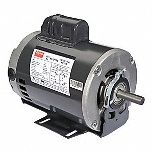 3/4 HP Belt Drive Motor, Capacitor-Start, 1725/1425 Nameplate RPM, 115/230 Voltage, Frame 56