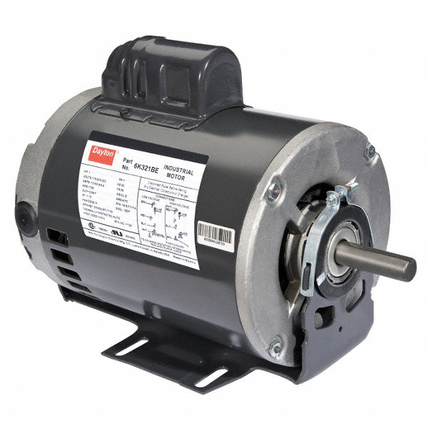 Dayton 1 1 2 hp general purpose motor capacitor start 1725 for 1 2 hp motor