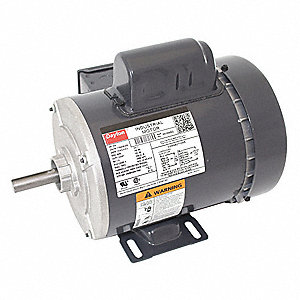 3/4 HP General Purpose Motor,Capacitor-Start,3450 Nameplate RPM,Voltage 115/208-230,Frame 56