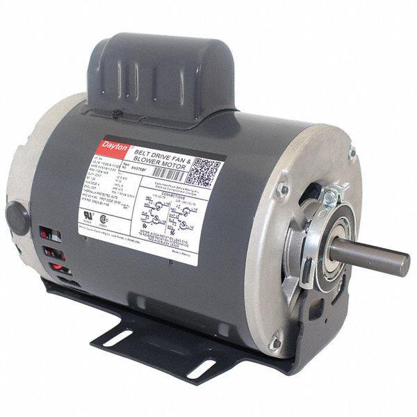 dayton 3  4 hp belt drive motor  capacitor