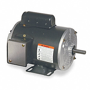 1/2 HP General Purpose Motor,Capacitor-Start,3450 Nameplate RPM,Voltage 115/208-230,Frame 48