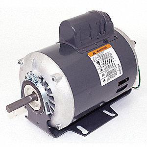 Dayton 1 3 Hp Belt Drive Motor Capacitor Start 1725 Nameplate Rpm 115 230 Voltage Frame 48z 6k490 Grainger