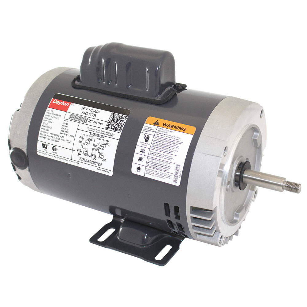 6K516_AS03?$zmmain$ dayton motor,1 5hp, jet pump 6k516 6k516 grainger  at bayanpartner.co