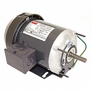 1/4 HP General Purpose Motor,Split-Phase,1725 Nameplate RPM,Voltage 115,Frame 48Z