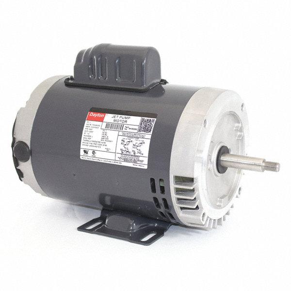 Dayton 1 hp jet pump motor capacitor start 3450 for 1 hp jet pump motor