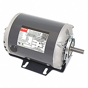 1/2 HP Belt Drive Motor, Split-Phase, 1725 Nameplate RPM, 115 Voltage, Frame 48Y