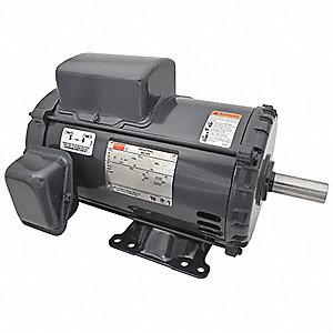 dayton 5 hp general purpose motor capacitor start run 3530 nameplate rh grainger com Residential Electrical Wiring Diagrams Simple Wiring Diagrams