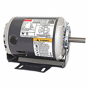 1/2 HP Belt Drive Motor, Split-Phase, 1725 Nameplate RPM, 115/208-230 Voltage, Frame 56