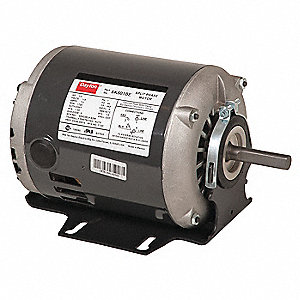 1/3 HP General Purpose Motor,Split-Phase,1725 Nameplate RPM,Voltage 115,Frame 48Z