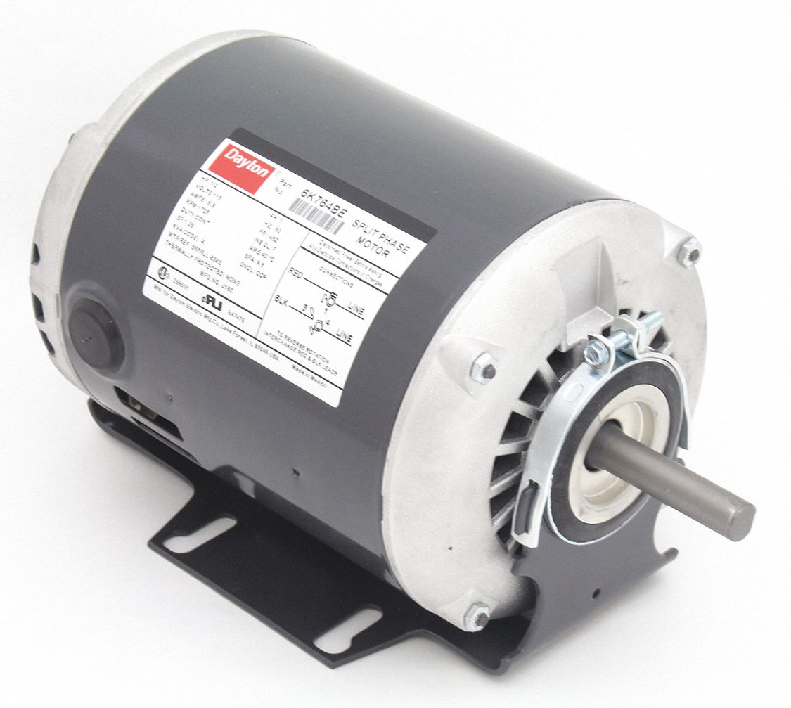 1 2 Commercial And Industrial Motors Grainger Industrial Supply
