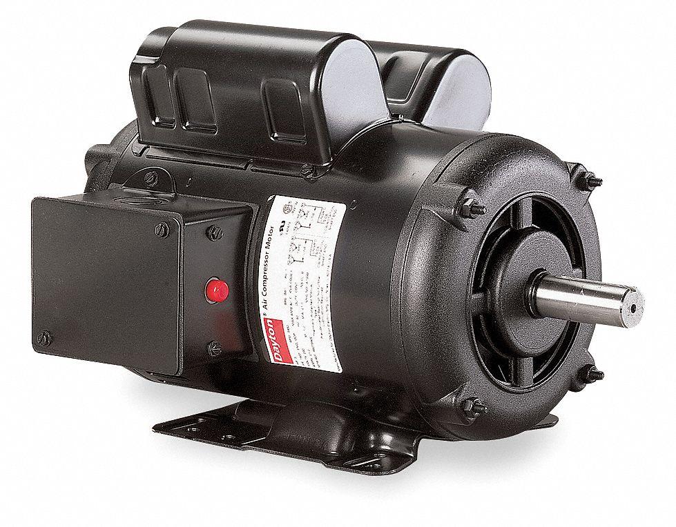 DAYTON Air Compr Motor5 HP3450 rpm230V143T 6K7946K794 Grainger