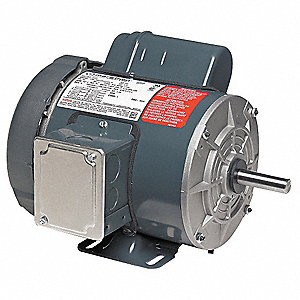 1 HP General Purpose Farm Duty Motor,Capacitor-Start,1725 Nameplate RPM,115/230 Voltage,Frame 56