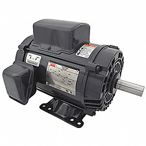 5 HP General Purpose Motor,Capacitor-Start/Run,1740 Nameplate RPM,Voltage 230,Frame 184T