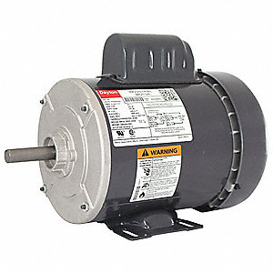 3/4 HP General Purpose Motor,Capacitor-Start,1725 Nameplate RPM,Voltage 115/208-230,Frame 56