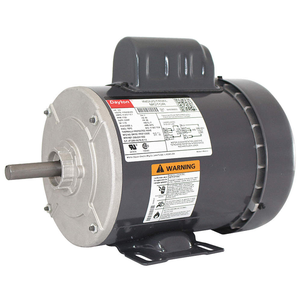 Dayton 3 4 Hp General Purpose Motorcapacitor Start1725 Nameplate Electric Motor Wiring Diagram View Zoom Out Reset Put Photo At Full Then Double Click