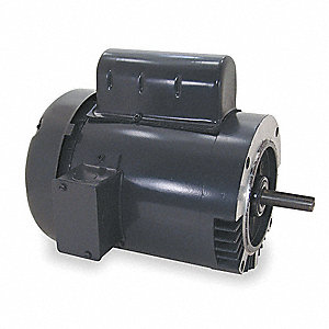 1/2 HP 50 Hz Motor,Capacitor-Start,1425 Nameplate RPM,110/220 Voltage,Frame 56C