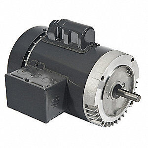 1/4 HP General Purpose Motor,Capacitor-Start,1725 Nameplate RPM,Voltage 120/208-230,Frame 56C