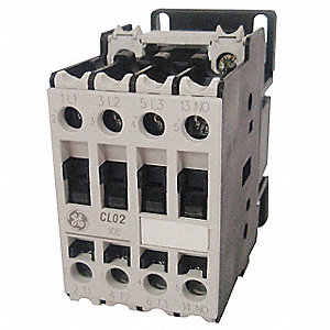 208VAC IEC Magnetic Contactor; No. of Poles 3, Reversing: No, 10 Full Load Amps-Inductive