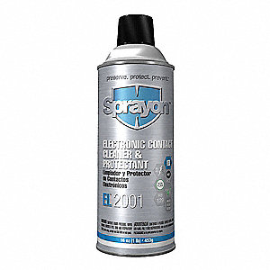 Electronic Contact Cleaner,16 oz.