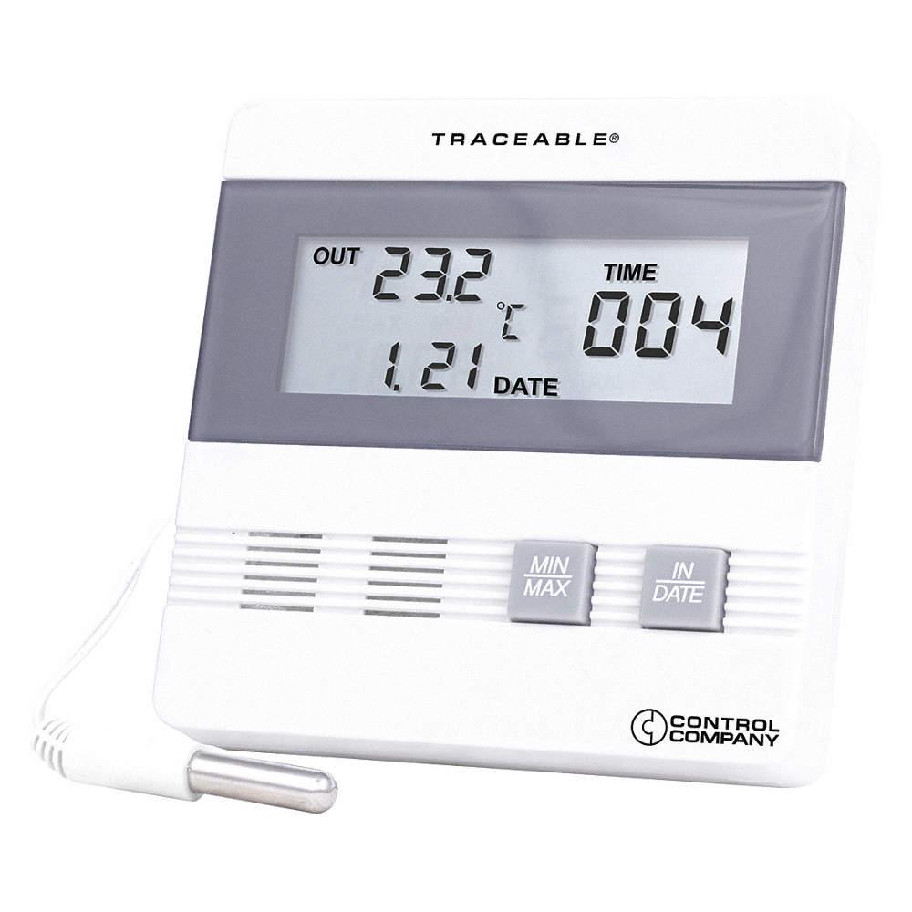 80 degrees F Range Refrigerator Freezer Thermometer 20 degrees F to