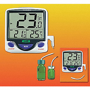 THERMOMETER,-58 TO 158F,LCD