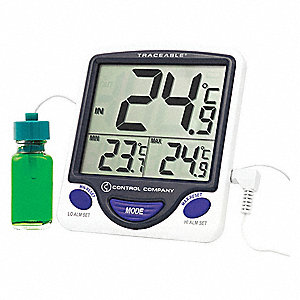 Digital Thermometer,  Jumbo Refrigerator