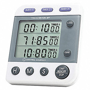 3-CHANNEL,JUMBO TIMER,TRACEABLE