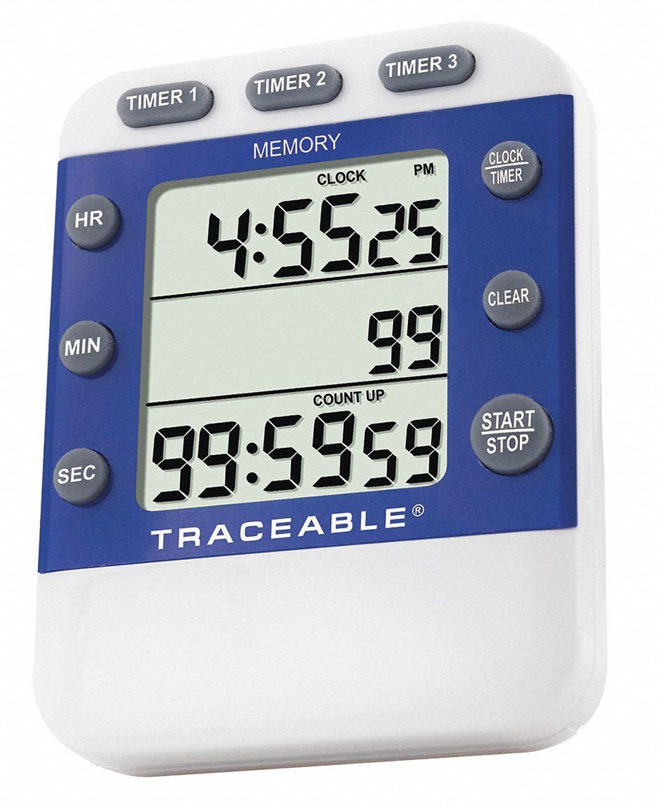 TRACEABLE 1092 Pocket Timer,Analog,60 Min.