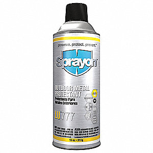 Corrosion Inhibitor, Wet Lubricant Film, 300°F Max. Operating Temp., 16 oz. Aerosol Can