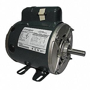 Marathon motors air compr motor 1 2 hp 1725 rpm 115 230v for 2 hp compressor motor