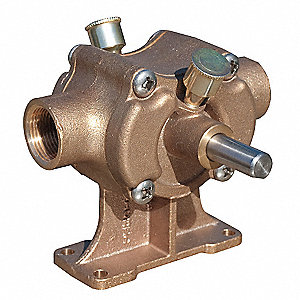 Bronze Self-Priming Flexible Impeller Pump Head