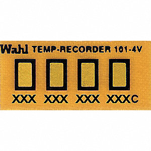 Non-Rev Temp Indicator, Kapton, PK10